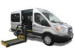 Ford Transit Side And Rear Dodge Grand Caravan Wheelchair Van Conversions