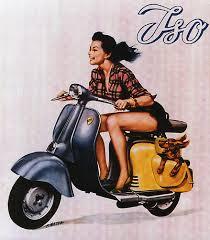 Vintage Vespa Advertisment
