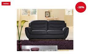 la maison du canapé canapé cuir 3 places coral la maison du canapé soldes canapé