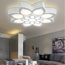 fancy iron individuality living room light led ceiling