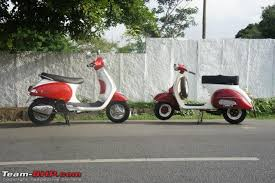 Customised New Vespa LX125