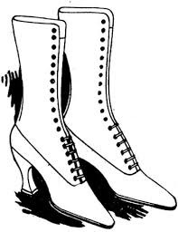 Click To See Printable Version Of Lady Shoes Coloring Page