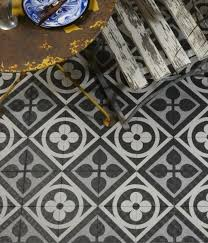 Alfresco Porcelain Tiles From Artisans Of Devizes A Beautiful Black And White Pattern Tile