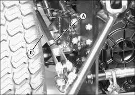 John Deere 1025r Mower Deck Adjustment by Installing
