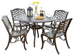 Excellent Outdoor Dining Tables And Chairs Room Set Garden Table