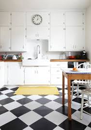 Lovely Older Kitchen With Butchers Block Countertops And Checkered Floor Co The Marion House Book