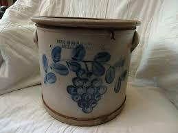 438 best Pottery Crocks images on Pinterest