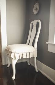 Shabby Chic Dining Room Chair Covers by Best 25 Dining Chair Slipcovers Ideas On Pinterest Dining Chair