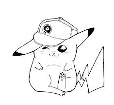 Pikachu Coloring Pages Printable Breathtaking With Colouring