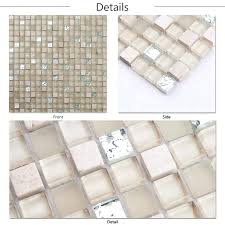 Lowes Mosaic Tile Go Gray Bathroom Interior And