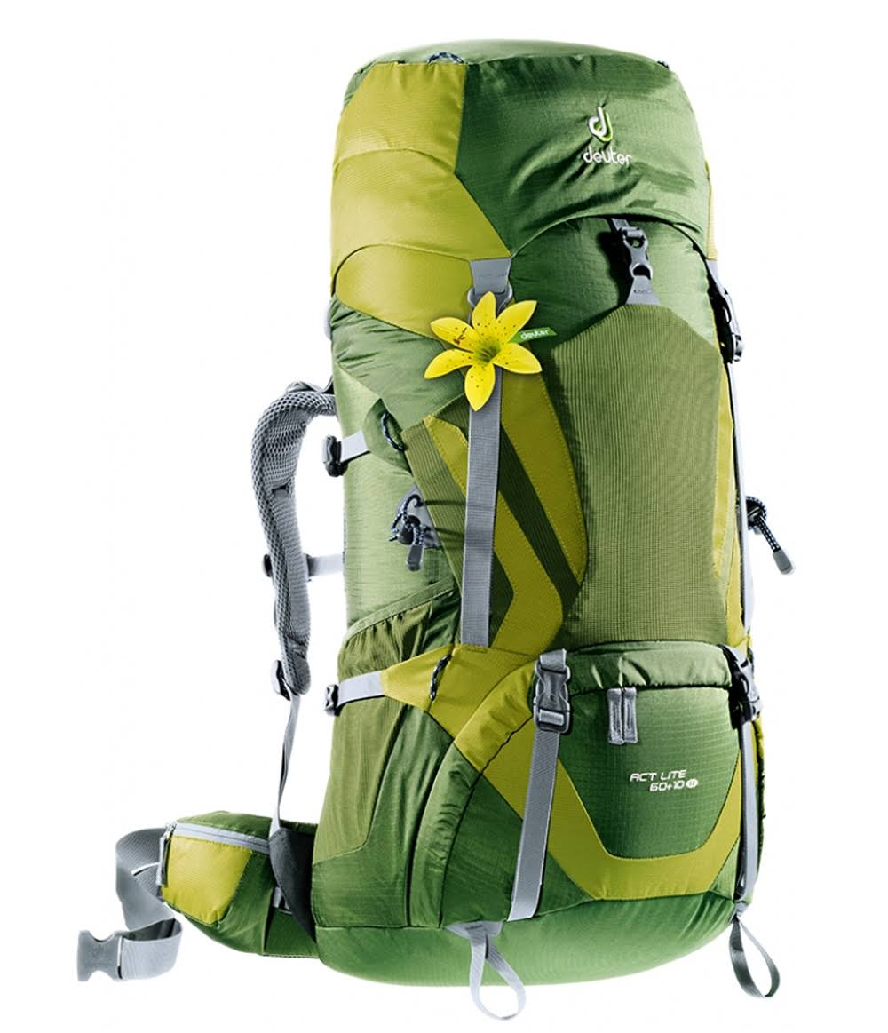 Deuter ACT Lite 60+10 SL Backpack - Pine/Moss