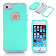 3 in 1 Impact Cover Hard&Soft Silicone Hybrid Case Universal for
