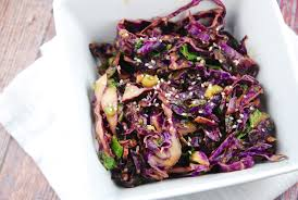 Japanese Pumpkin Salad Recipe by Asian Red Cabbage Salad Recipe 3 Points Laaloosh