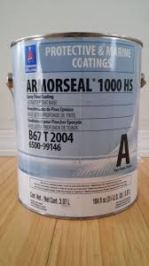 sherwin williams armorseal 1000 hs heavy duty floor coating