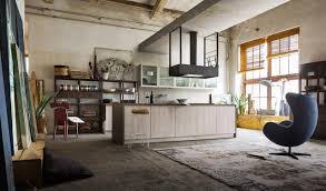 100 Urban Art Studio Openplan Kitchen In Industrial Style