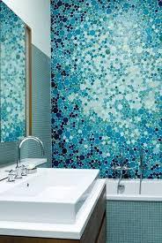 Teal Bathroom Tile Ideas by Best 25 Blue Mosaic Tile Ideas On Pinterest Blue Mosaic Rustic