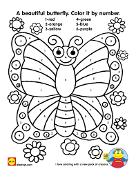 Free Coloring Pages Butterfly Color By Number In Photography Online