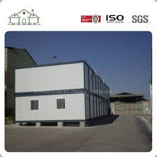 100 Container Projects Hot Item Two Floor Low Cost Portable Prefabricated Light Steel Frame House For Camp