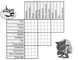 Halloween Brain Teasers Worksheets by Monster Costume Party Logic Puzzle For The Classroom Pinterest