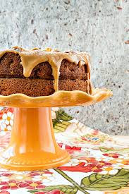 This Fresh And Dried Apple Pecan Cake Recipe Is Elegant Enough For A Holiday Dessert