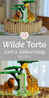 and one die wilde dschungel torte zum ersten