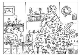 Free Printable Christmas Coloring Pages For Kids Village
