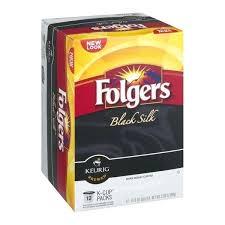 Black Silk Coffee Dark Roast K Cups Folgers Gourmet Selections