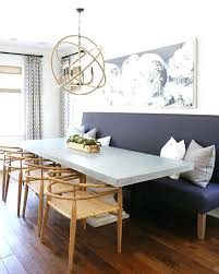 Bench Kitchen Table Dining Room With Seating Wooden Floor Gray