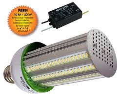 arva hylite led arc cob light bulbs to replace hid mh cfls
