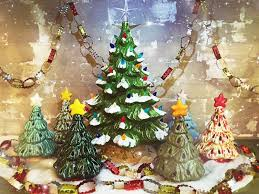 Oct 19 Vintage Christmas Tree Painting Party