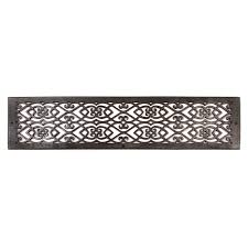 Decorative Air Conditioning Return Grille by Oversized Victorian Bronze Wall Air Return Wall Registers