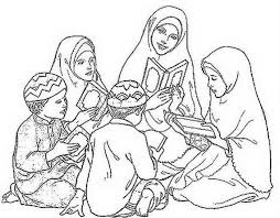 Ramadan Coloring Pages For Family Net Guide