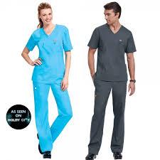 Ceil Blue Scrubs Sets by Orange Standard Unisex Scrubs Set Happythreads