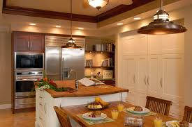 Kitchen Soffit Decorating Ideas by Hale Aina By The Sea Kitchen Archipelago Hawaii Luxury Home