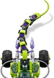 100 Fangpyre Truck Ambush Lego 9445