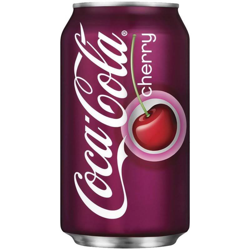 Coca-Cola Cherry Soda - 12oz, 24pk