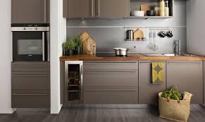 cuisine grise plan de travail bois plan de travail et cradence des idaes collection et cuisine grise
