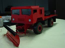 100 Rc Truck With Plow Snows Coming Truck 1 Of 2with Wing Scale 4x4 RC Forums
