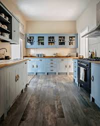 pastel blue farmhouse cabinets for contemporary kitchen hupehome