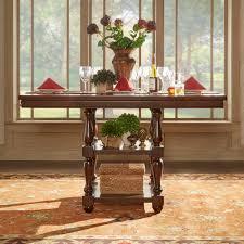 HomeSullivan Madison Burnished Dark Oak Counter Height Dining Table