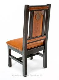Elegant Rustic Dining Chair Refined