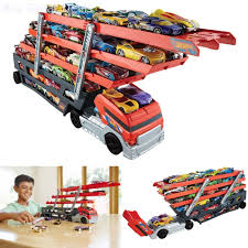 Car Toy Semi Truck Hot Wheels Carrier Mega Hauler Lot 50 Hot ... Team Hot Wheels Truckin Transporter Stunt Car Youtube Sandi Pointe Virtual Library Of Collections The 8 Best Toy Cars For Kids To Buy In 2018 Mattel And Go Truckdwn56 Home Depot Wvol Hand Carryon Wild Animals Transport Carrier Truck 1981 Hotwheels Rc Car Carrier Hobbytalk Other Radio Control Prtex 24 Detachable Aiting Carry Case Red Mega Hauler Big W Hshot Trucking Pros Cons The Smalltruck Niche Walmartcom