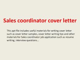Sample Cover Letter Program Coordinator Position