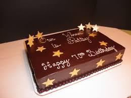 70th Birthday Winner sheet cake and personal cake award