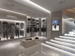 Modern Man Clothing Store Design Clothes Display System Men Clothin