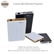 COOLUX Q6 Ultimate Edition support for Apple Android phones wireless projector mini mirroring screen HDTV for home office in Projectors from puter