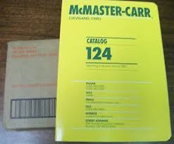 BRAND NEW McMaster Carr Supply Company Catalog Number 124 Cleveland OH