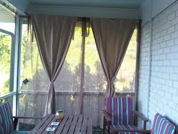 Vinyl Patio Curtains Outdoor by Front Porch Curtains Mosquito Netting Great Idea If You U0027re