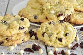 Cranberry White Chocolate Cake Mix Cookie Recipe