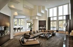 modernes wohnzimmer in beige und braun eingerichtet wohnen